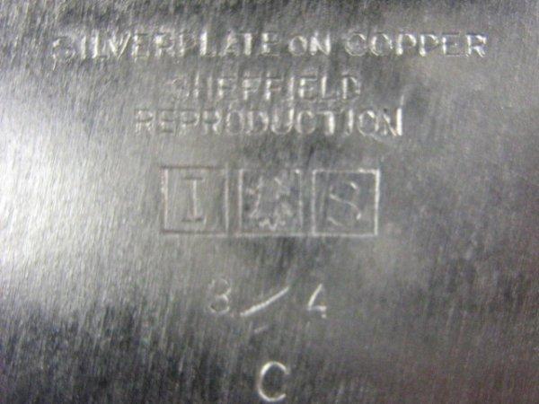 82: Sheffield International Silver Co. Tray - 3
