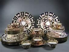 95: Royal Crown Derby Imari Dish Set