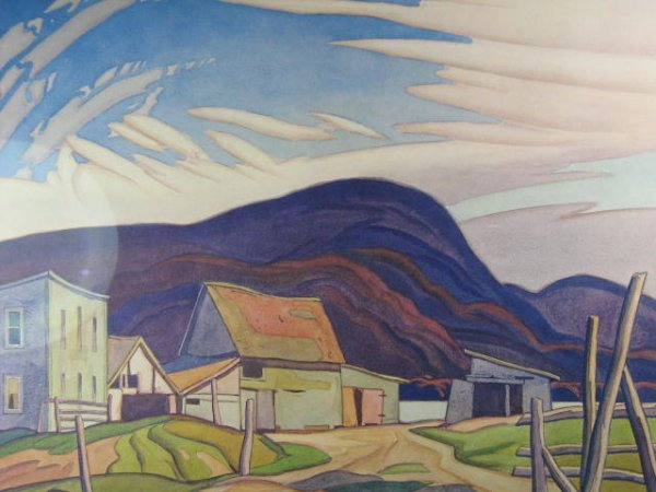 142: A.J. Casson West Guilford Print