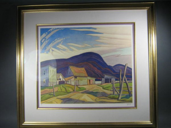 142: A.J. Casson West Guilford Print - 2