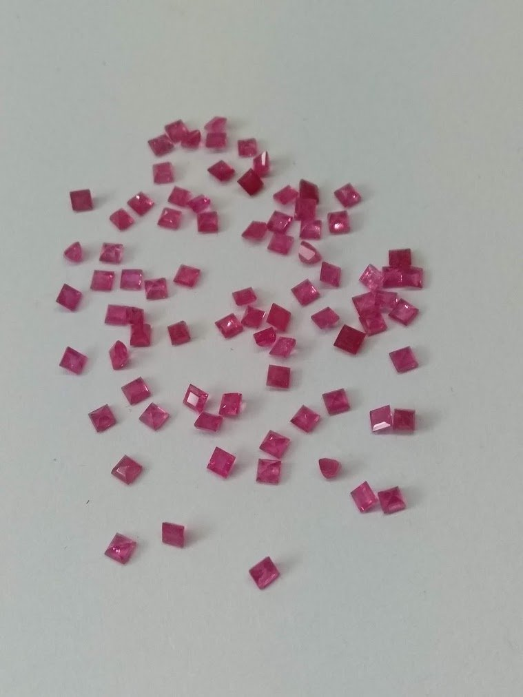 4.70 Cts 80 Pieces Natural Untreated Ruby Gemstones - 2