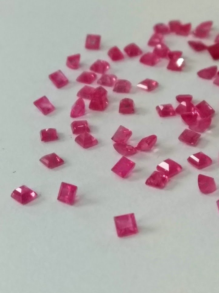 4.70 Cts 80 Pieces Natural Untreated Ruby Gemstones - 4