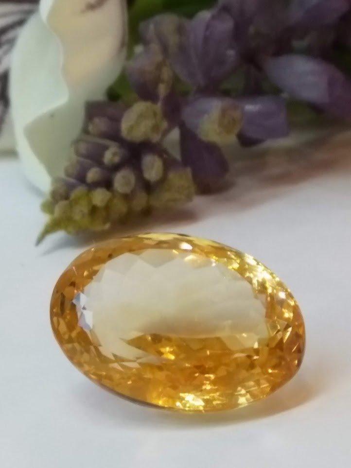 14.71 carat Natural Citrine gemstone - 2