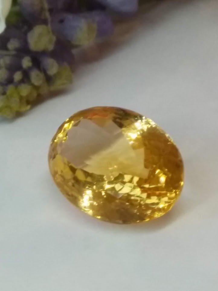 14.71 carat Natural Citrine gemstone - 3