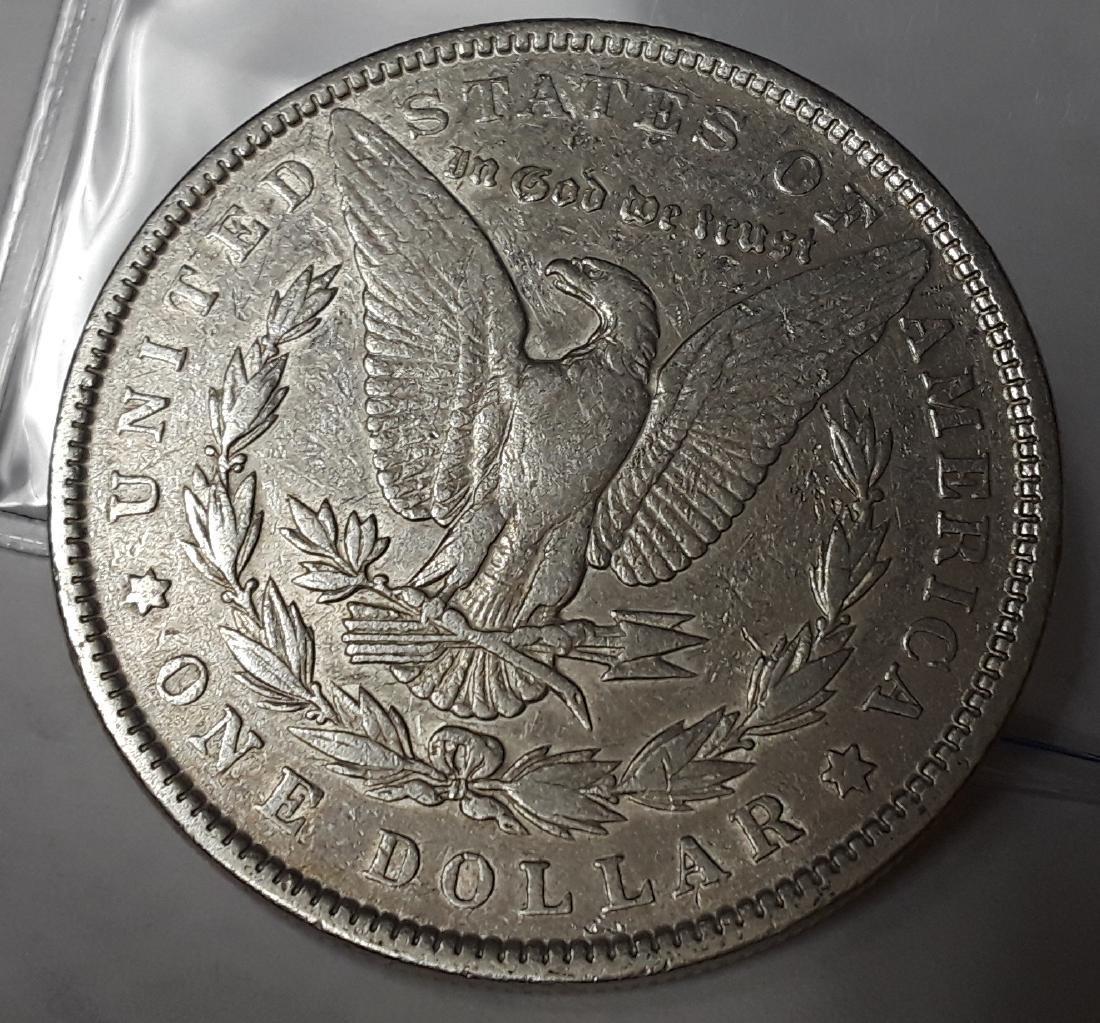 1887 US Morgan Silver Dollar - 2