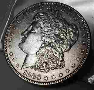 1883 US Morgan Silver Dollar