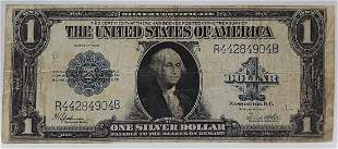 1923 Large US Silver Certificate $1 Note