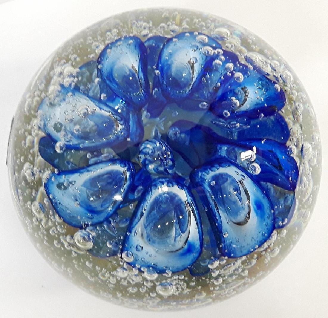 Large Murano Art Glass Paperweight - 2