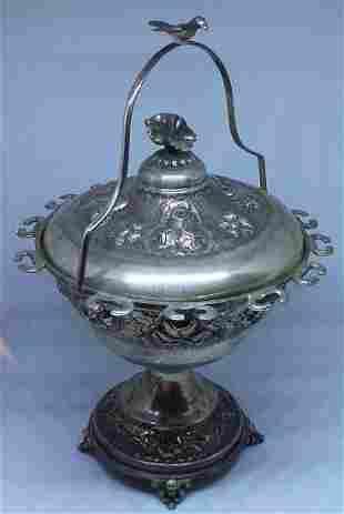 Vintage Sterling Silver Sugar Pot