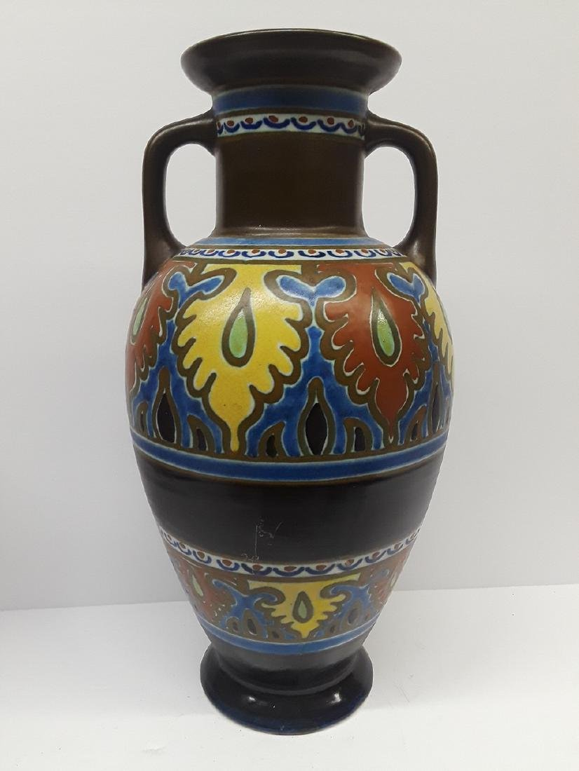 Large Mid Century Emmy Gouda Pottery Vase - 2
