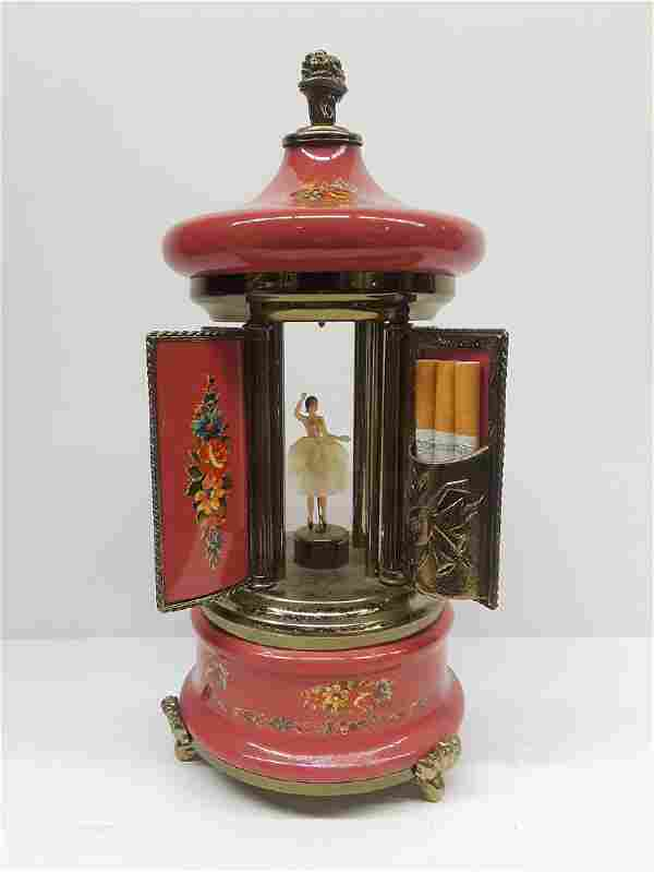 Vintage Italian Musical Smokers Box