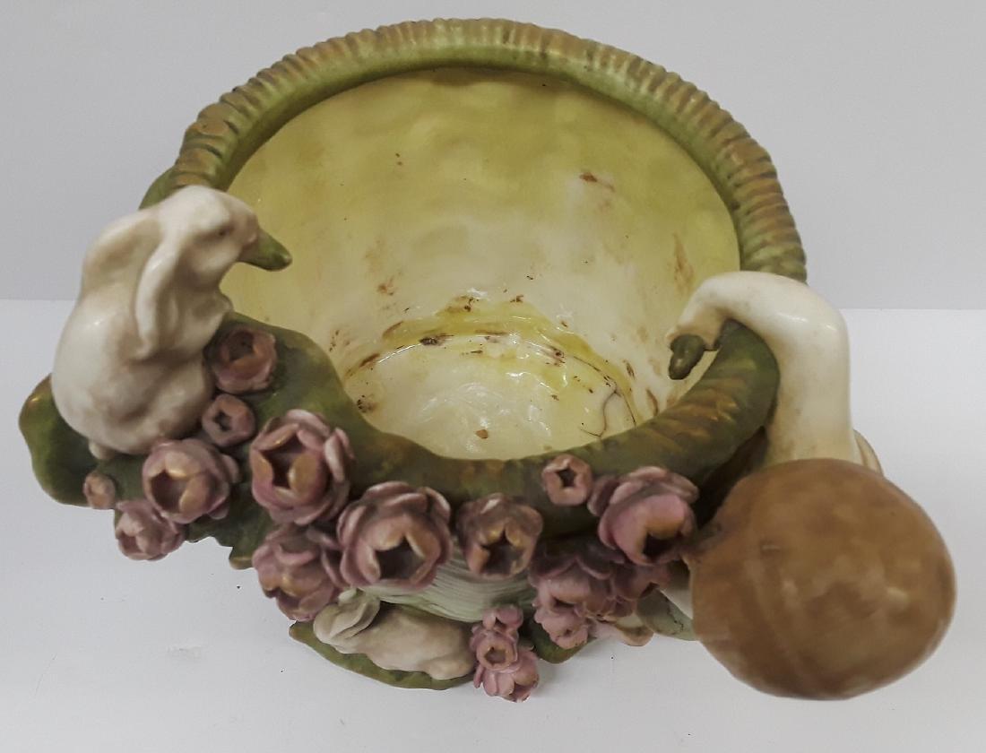 Antique Austiran Amphora Porcelain Planter - 2