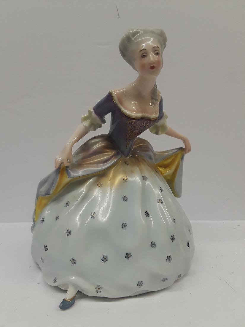 Vintage German Rosenthal Porcelain Figurine