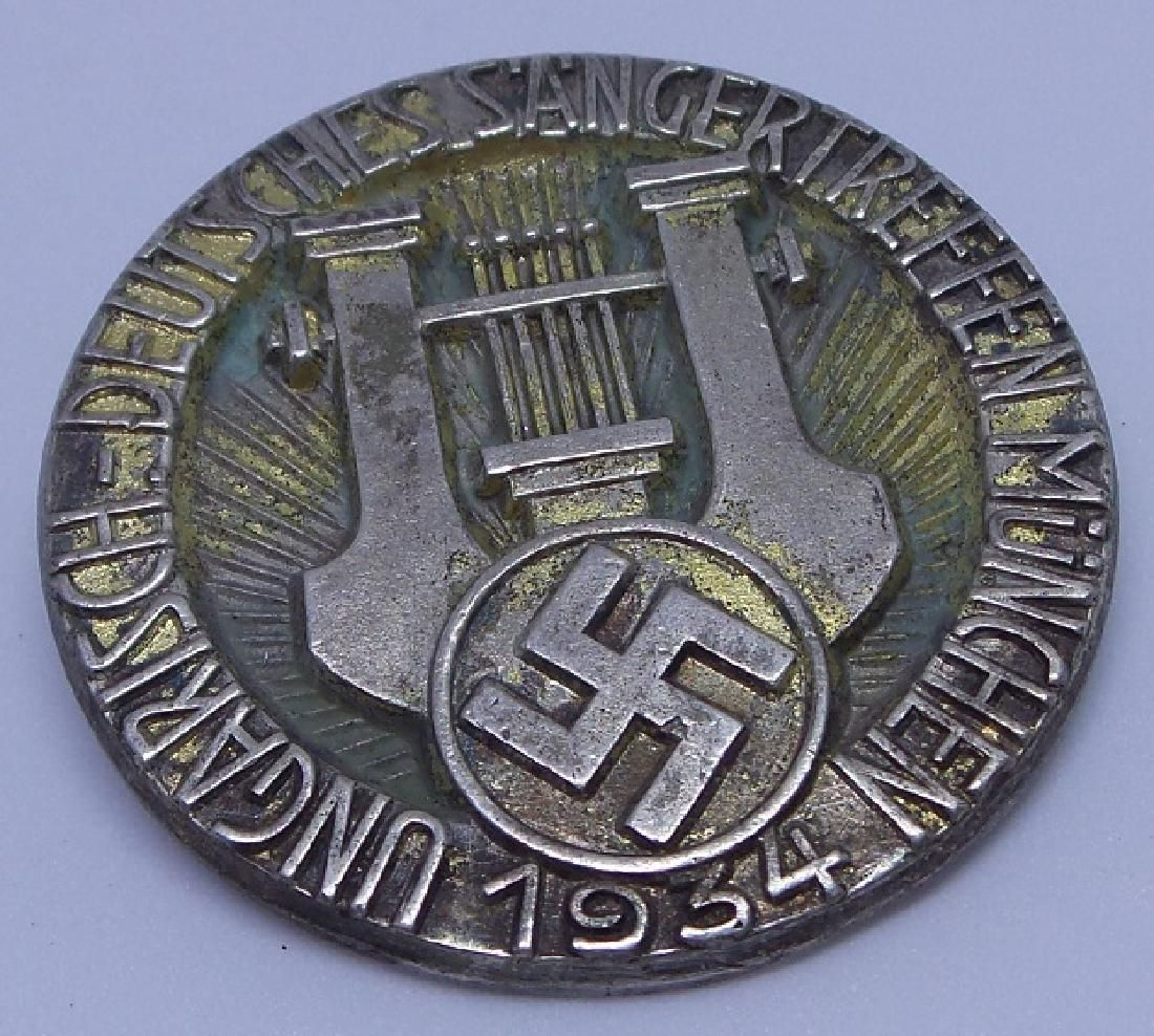 Authentic 990 Silver 1934 Nazi Germany Medal