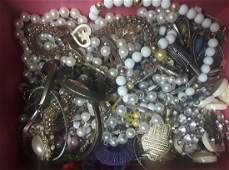 Lot of Assorted Vintage Costume Jewelry