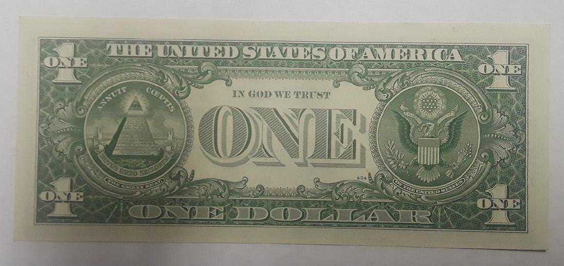 1957 Uncirculated Silver Certificate $1 Star Note - 2