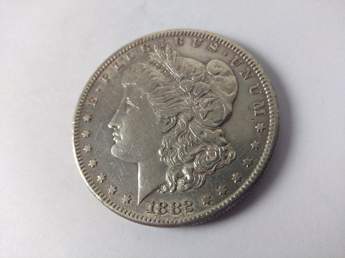 1882 S Morgan Dollar - Nice Grade