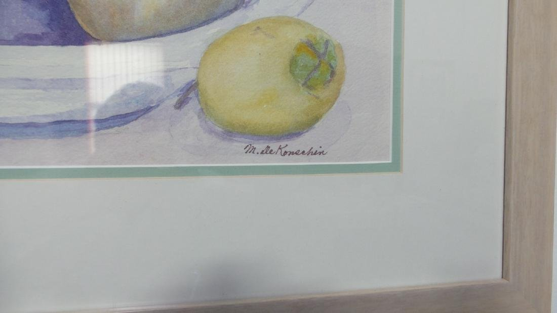 Original watercolor Still Life by unknown artist - - 2