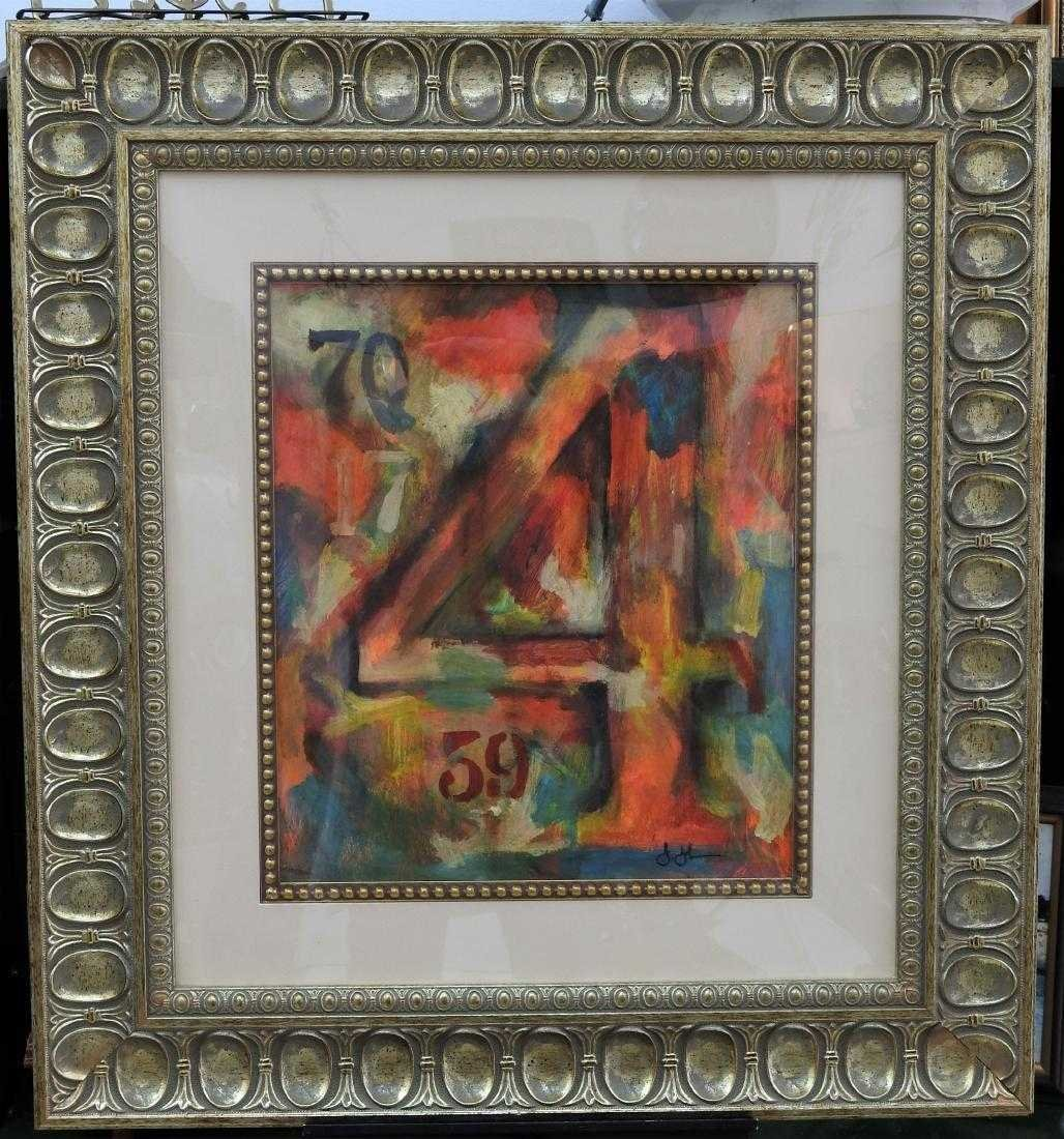 Jasper Johns Abstract Expressionism American 1930 born