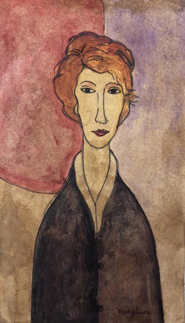 Amedeo Modigliani Drawing Women Italian Art 1884-1920