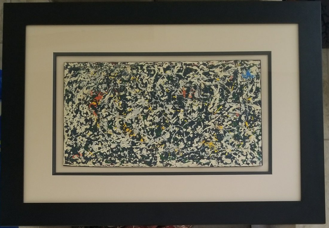 Jackson Pollock Abstract Expressionism (1912-1956) - 3