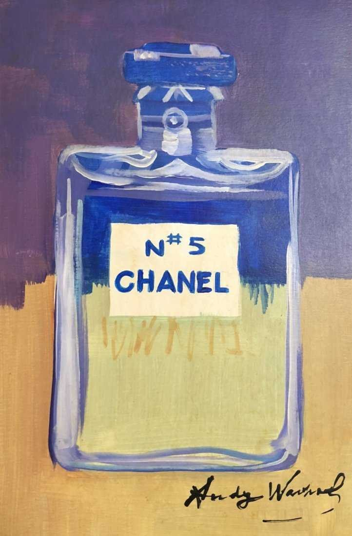 Andy Warhol American Pop Art Chanel Drawing Fragance