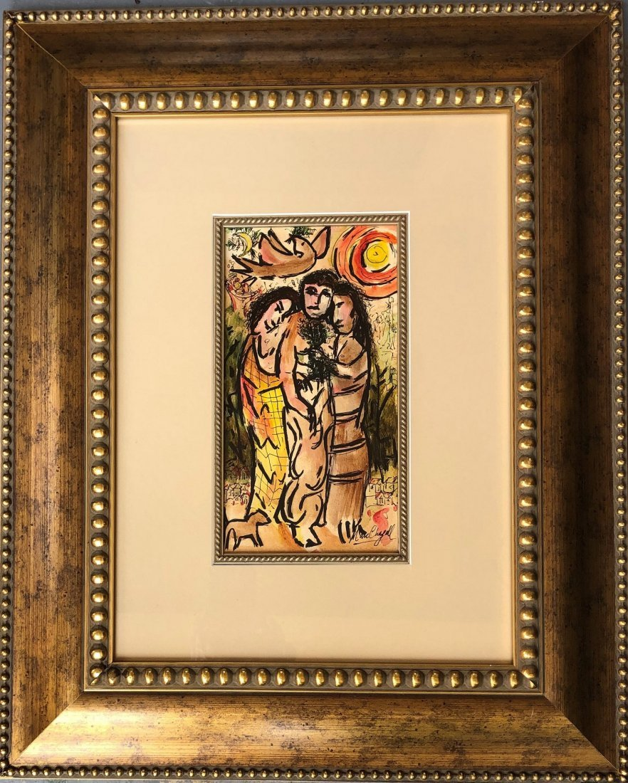 Marc Chagall Drawing RUSSIAN French Painting(1887-1985) - 2