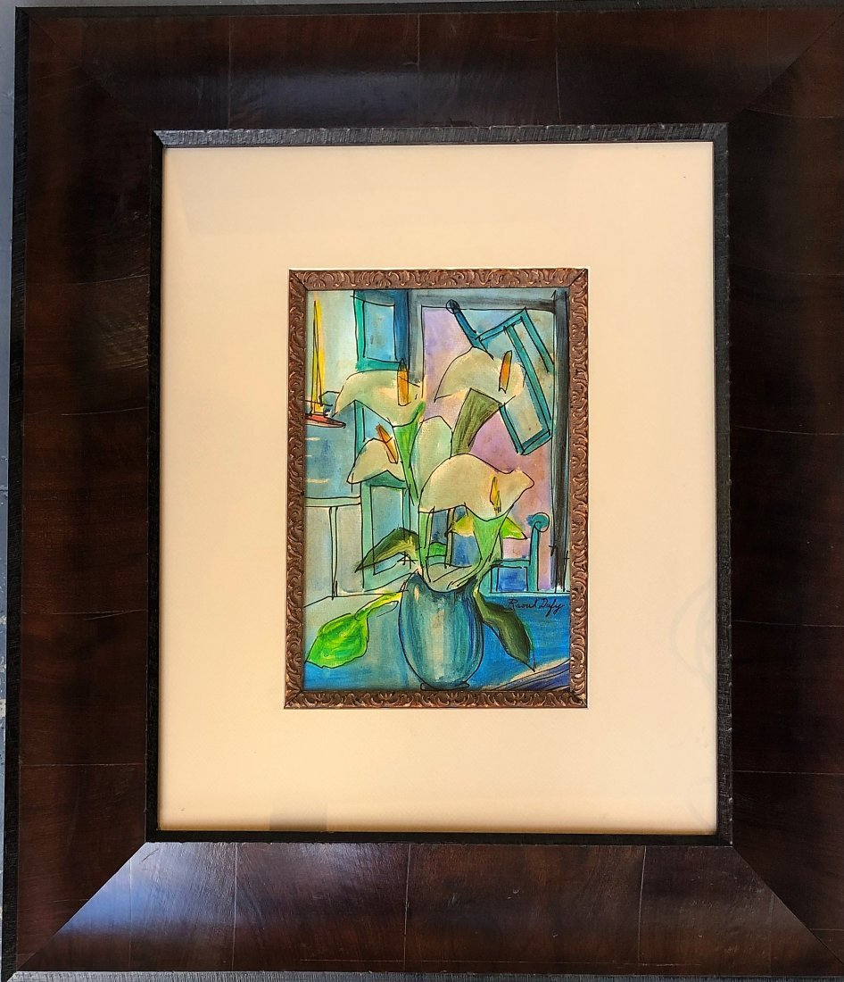 Raoul Dufy Mixed Media Drawing (1877-1953) - 2