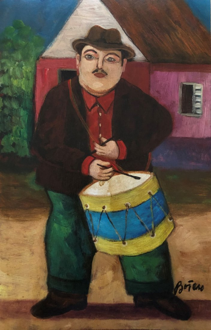 Fernando Botero Mixed Media on Paper Signed Colombian