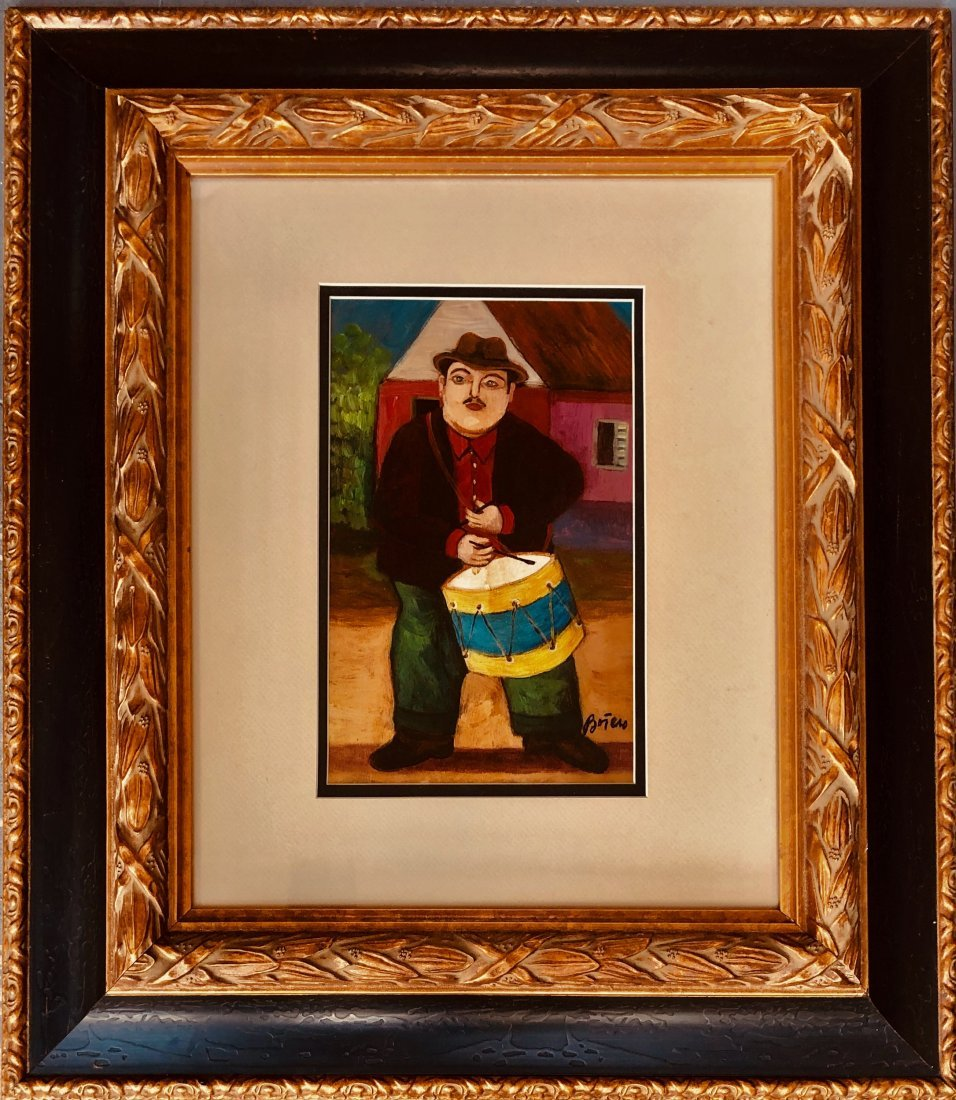 Fernando Botero Mixed Media on Paper Signed Colombian - 2