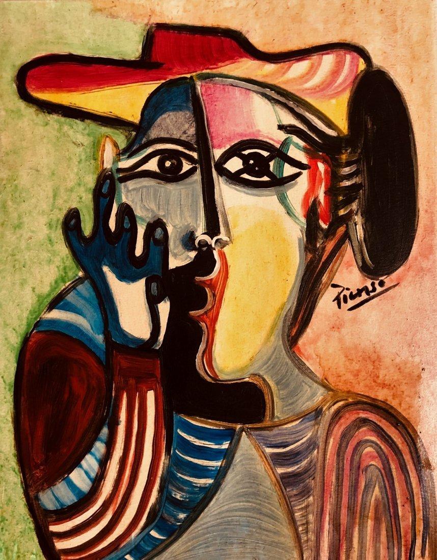 Pablo Picasso Women Cubism Spanish Art