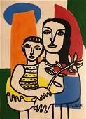 Fernand Leger French Art Cubism 1881-1955