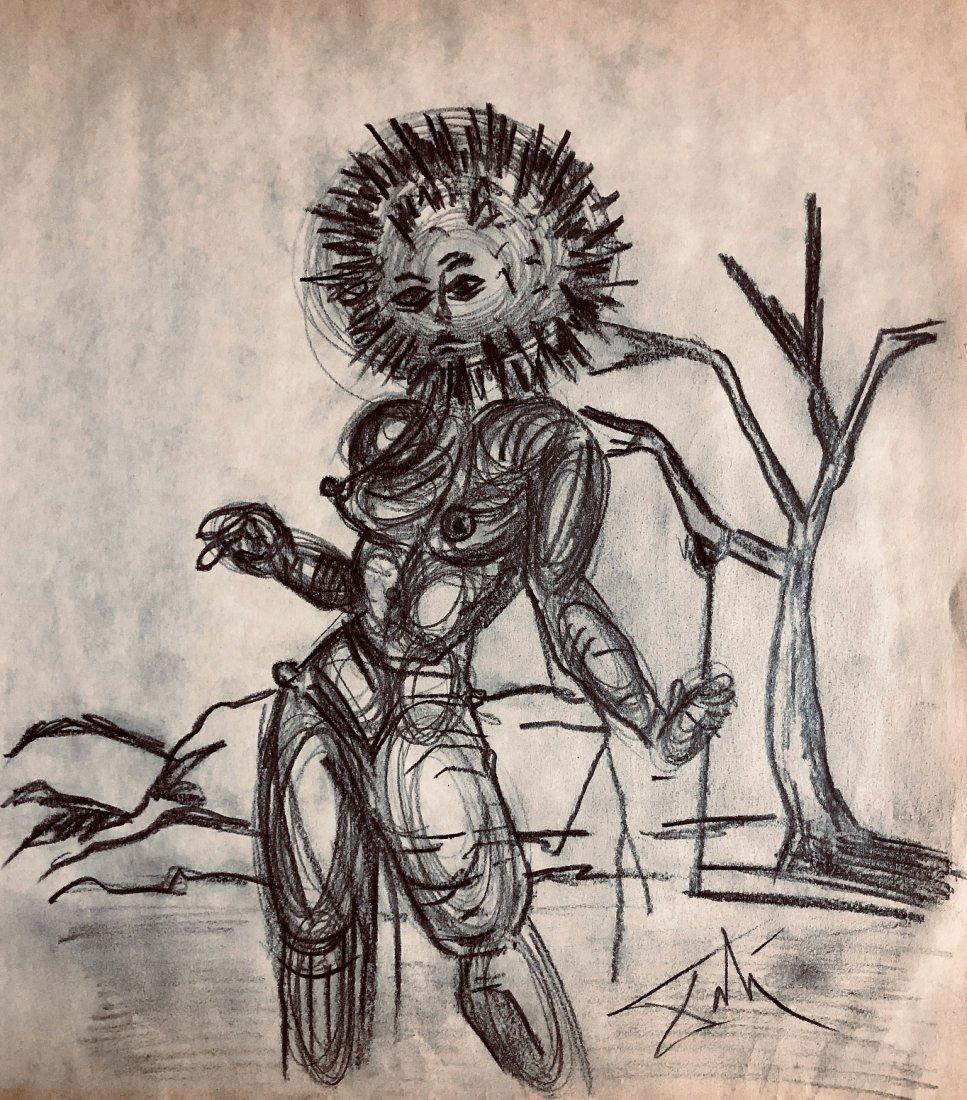 Salvador Dali Drawing Spanish Surrealism