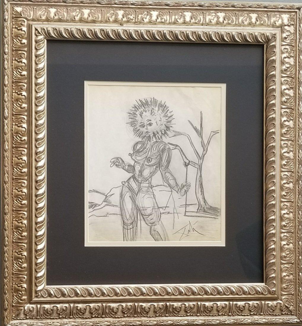 Salvador Dali Drawing Spanish Surrealism - 2