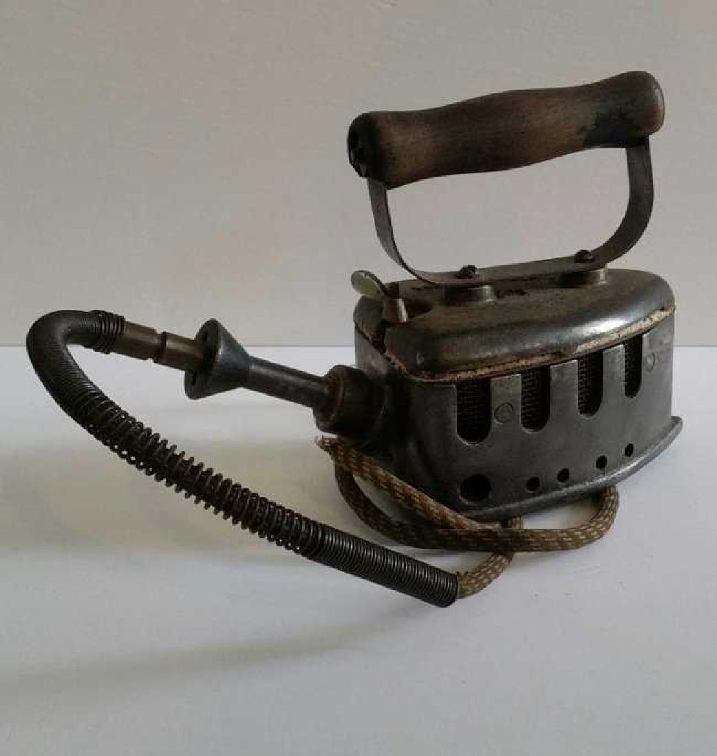 Antique Vintage Very old Electric Iron - 2
