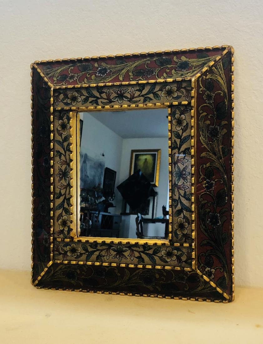 Peruvian Mirror Framed Antique