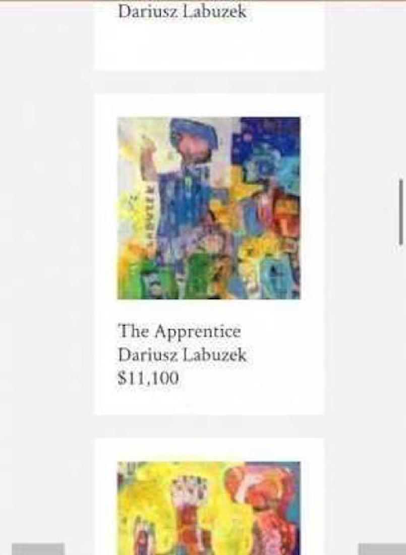Dariusz Labuzek Mixed Media on Canvas American Art - 4