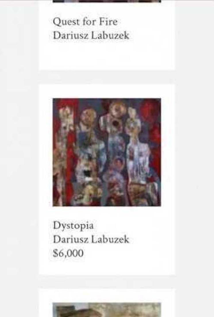 Dariusz Labuzek Mixed Media on Canvas American Art - 5