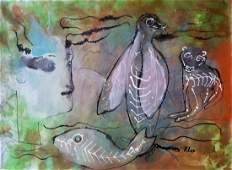 Paul Klee Expressionism Abstract Swiss German Attrib