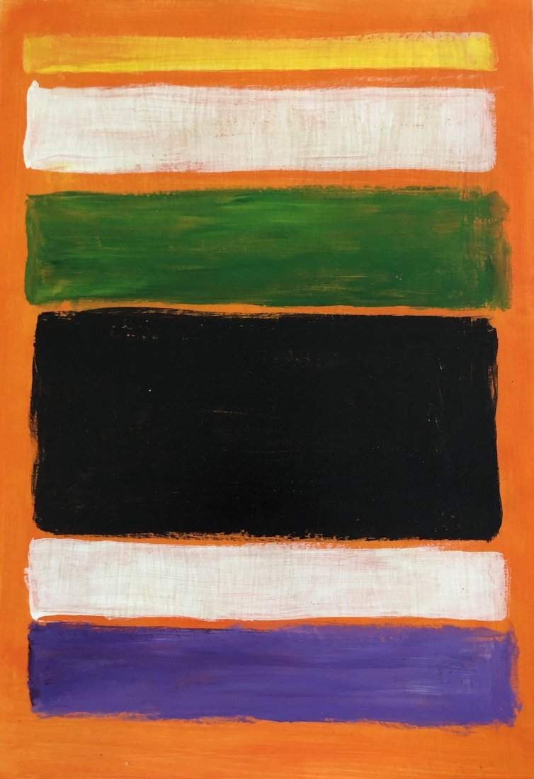 Mark Rothko Abstract American Russian Attributed