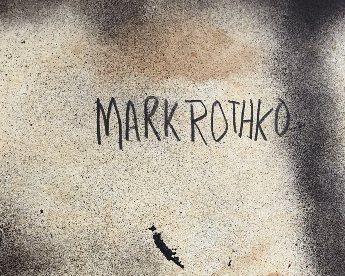 Mark Rothko Abstract American Russian Attributed - 2