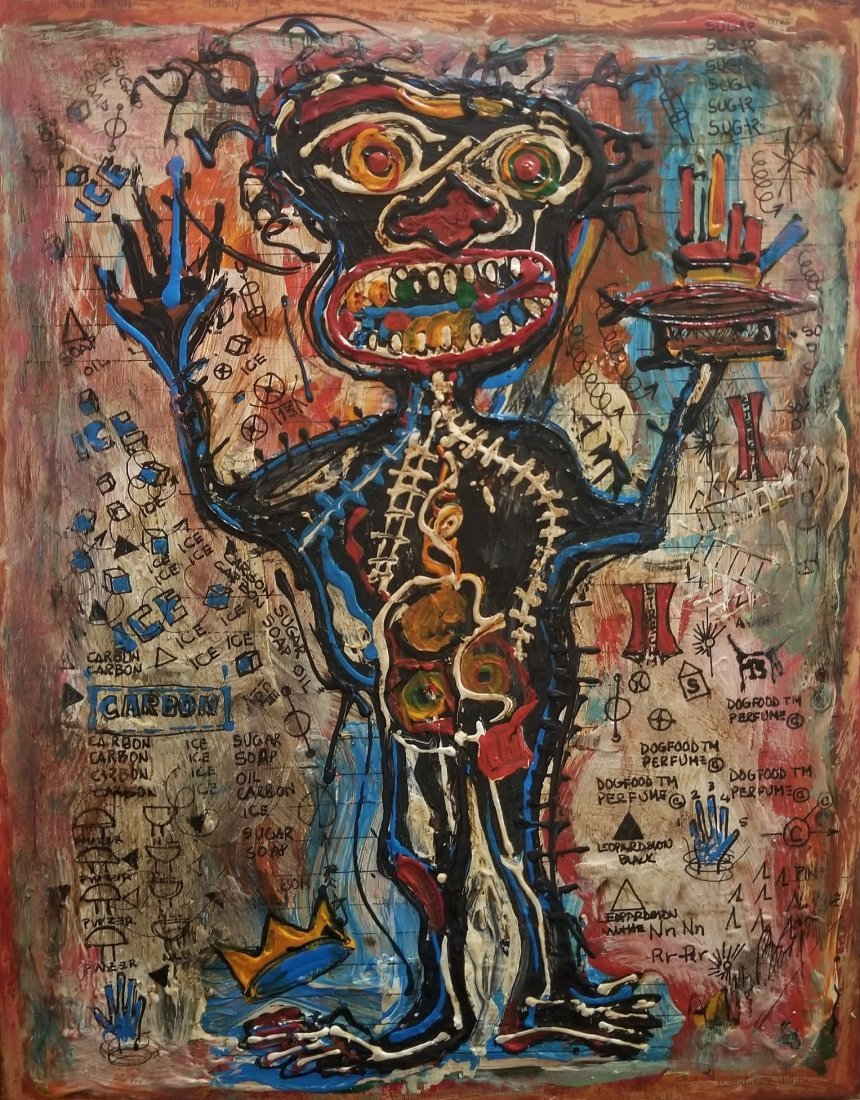 Jean Michel Basquiat Abstract Expressionism; Style of - 2
