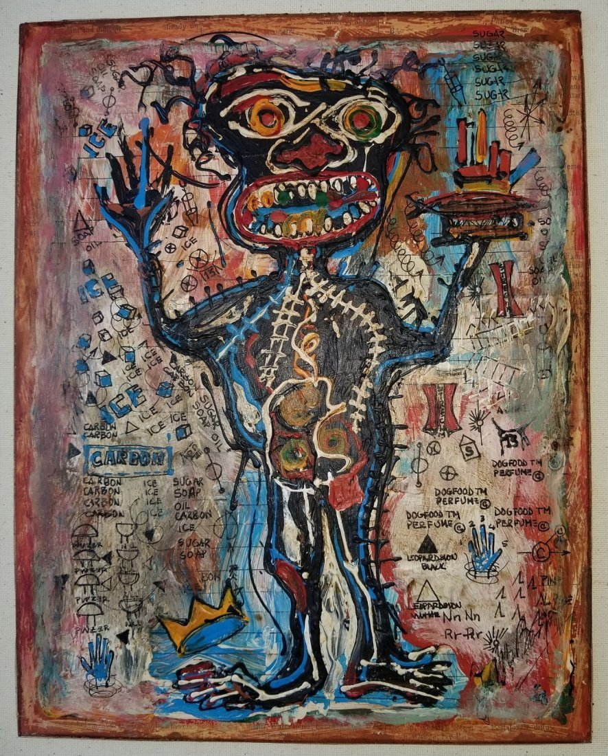 Jean Michel Basquiat Abstract Expressionism; Style of - 3