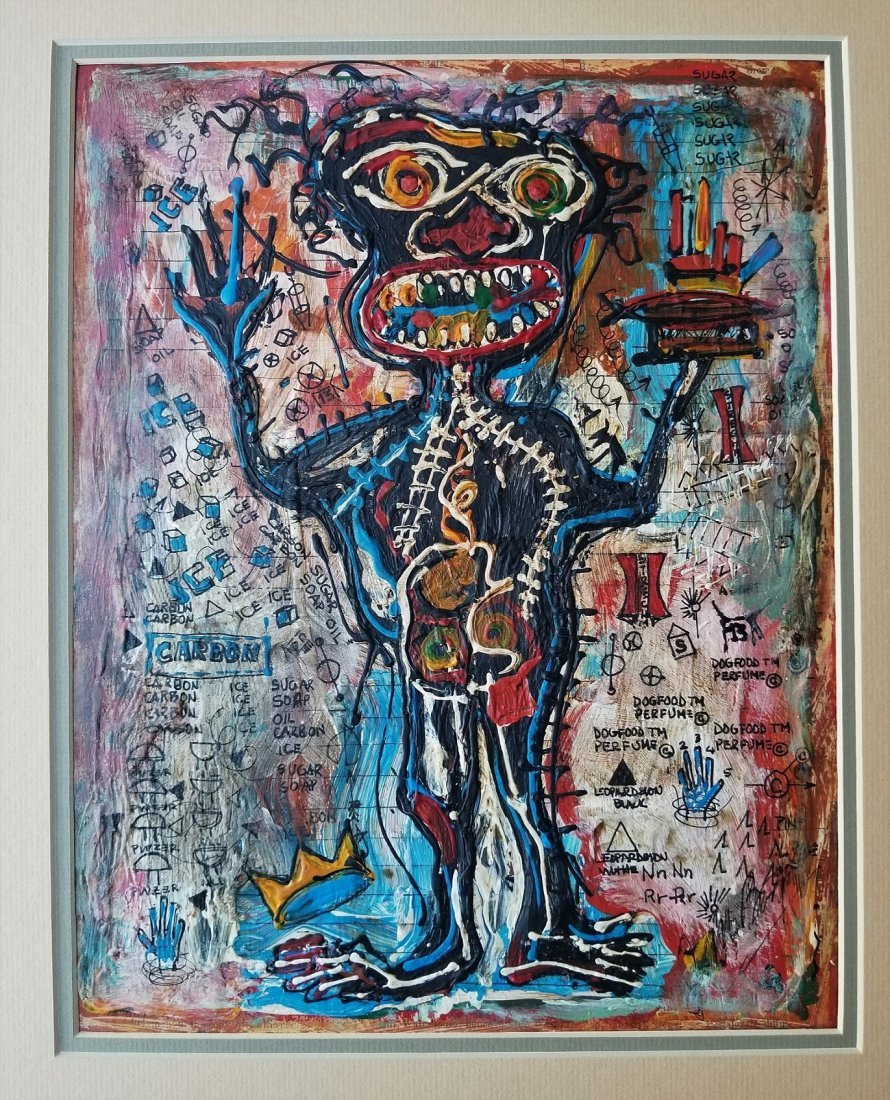 Jean Michel Basquiat Abstract Expressionism; Style of - 4