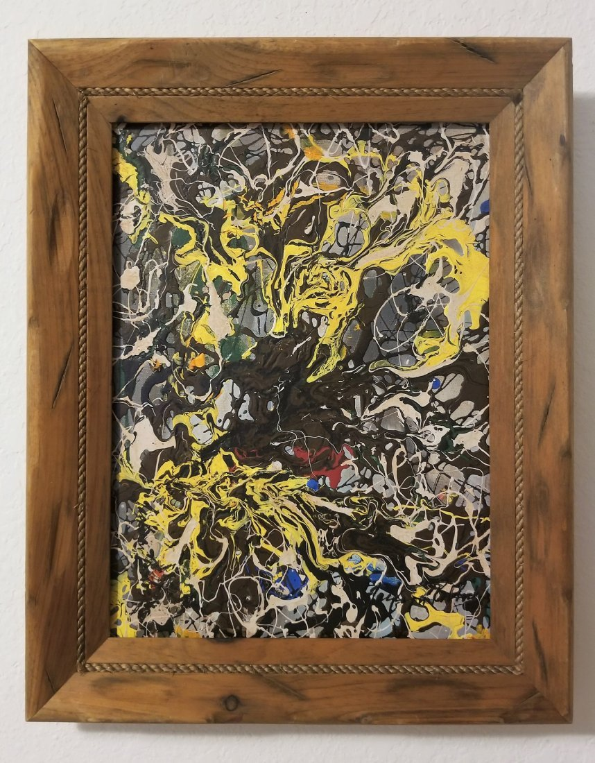 Jackson Pollock Abstract Expressionism 1950's- Style of