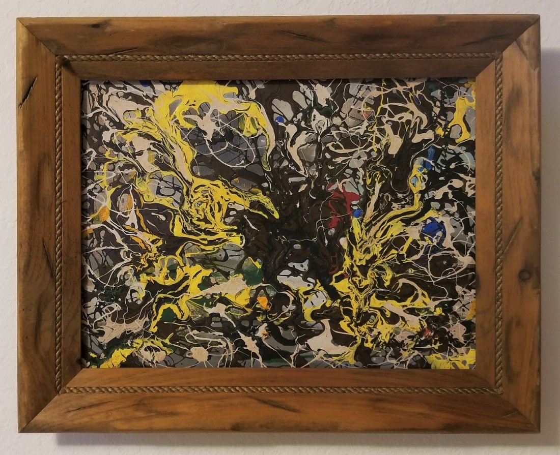 Jackson Pollock Abstract Expressionism 1950's- Style of - 2