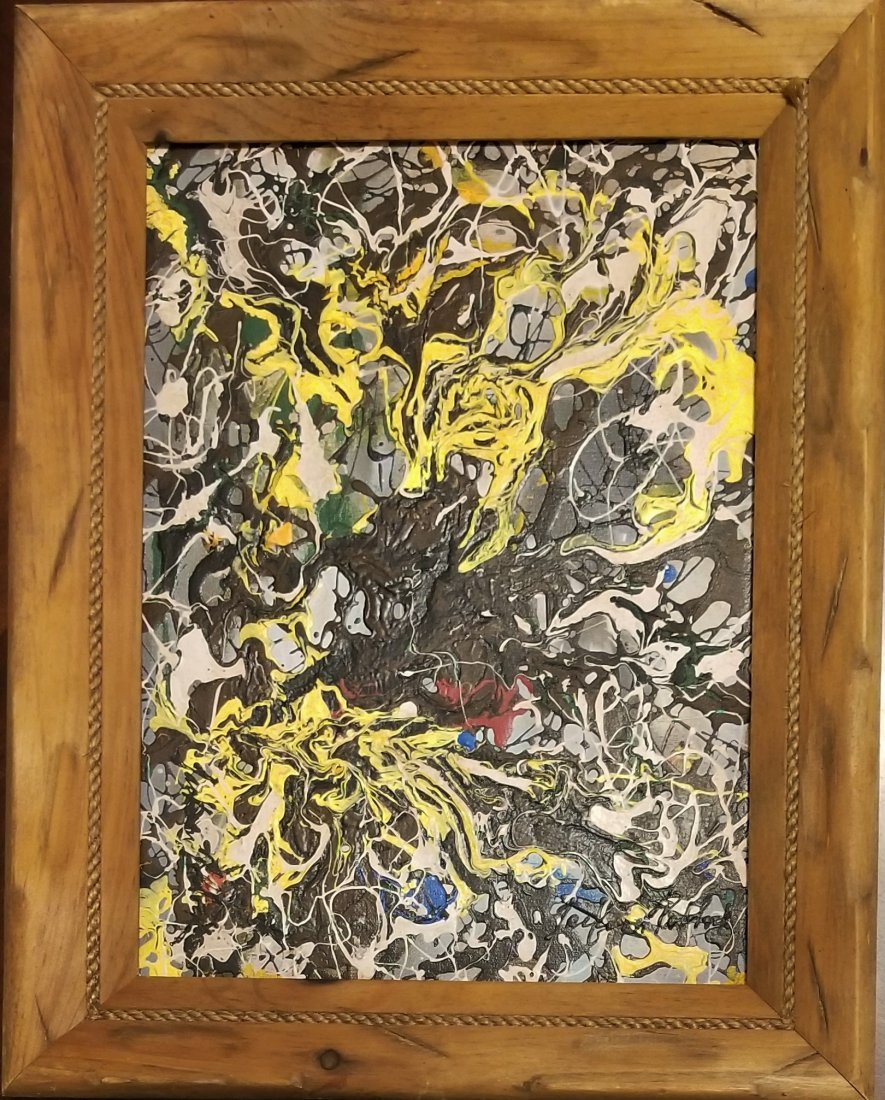Jackson Pollock Abstract Expressionism 1950's- Style of - 5