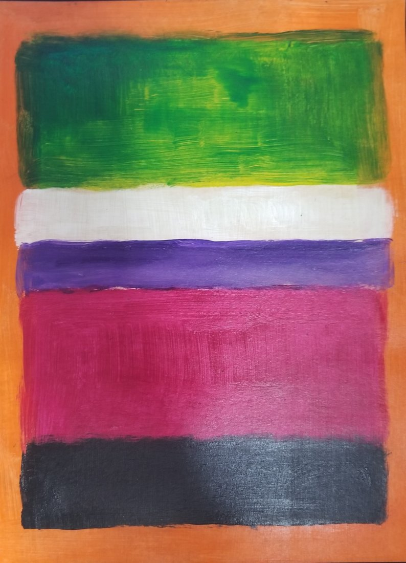 Mark Rothko Abstract Expressionism American -Style of