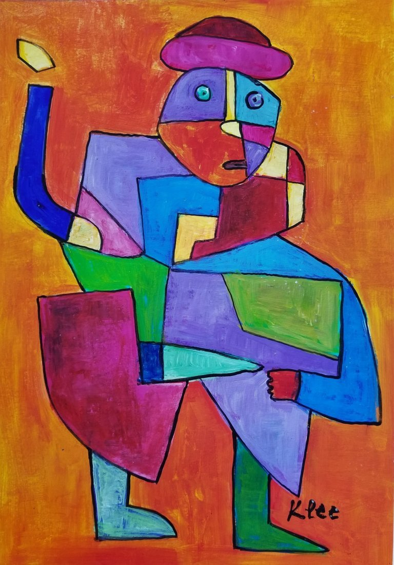Paul Klee Abstract figurative Expressionism -Style of