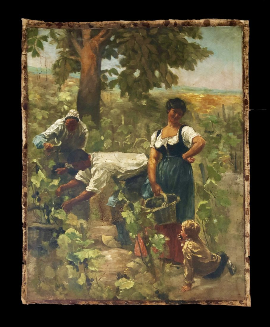 Jules Breton French Landscape - Style of.